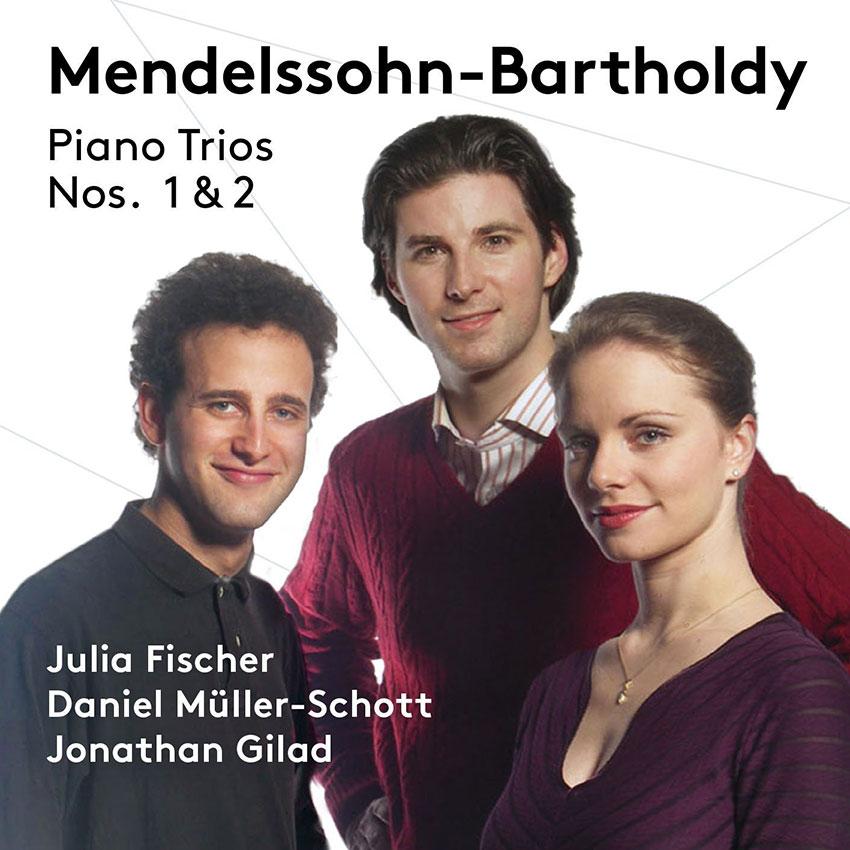 Felix Mendelssohn Bartholdy - Klaviertrios 1 & 2